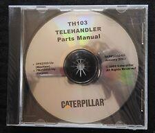 Caterpillar Th103 Telehandler Tractor Parts Manual Cd Serp 3350 03 Mint Sealed