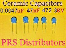 Ceramic Capacitor /' 3KV 472 4700 pF 5 pcs From USA