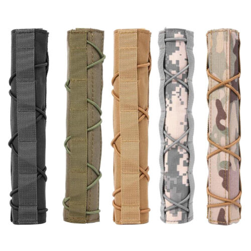"Tactical 8.5/"" Gun Rifle Suppressor Mirage Heat Cover Silencer Muffler Protective"