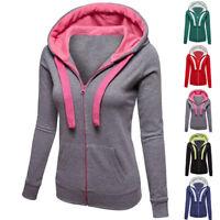 SALE Women Long Sleeve Hoodie Sweatshirt Sweater Casual Hooded Coat Pullover Top
