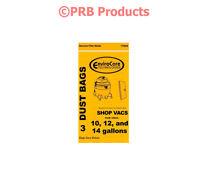 Shopvac 10 12 14 Gallon Vacuum Bag 90662 Heavy Duty Drywall Quiet Industrial