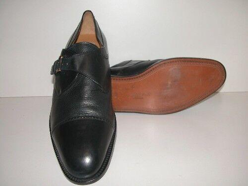 Hombres-mezlan-Istanbul-tamaño 16M-Azul Marino Oscuro Cuero Oxford Zapato