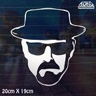 Breaking Bad Walter White Heisenberg Hat Vinyl Sticker Decal Wall Car Ute 20cm
