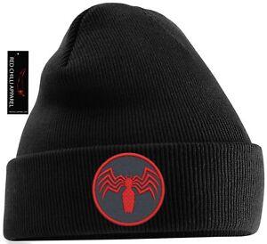 Venom Spider Inspired Beanie Hat
