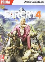 Far Cry 4 Prima Official Strategy Guide Xbox 360 One Ps4 Ps3 Pc Game Cheat Book