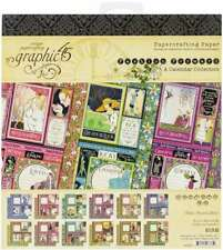 Graphic 45 FARMHOUSE 8x8 Paper Pad 24 Sheets Country Mixed Media Scrapbook