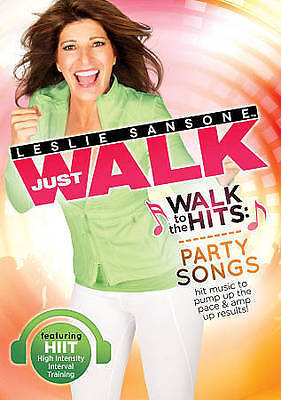 Leslie Sansone: Walk to the HITS Party Songs New DVD! Ships Fast!