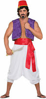 Deluxe Red Sash Belt Aladdin Pirate Sash Prince Royal Costume Accessory 130in