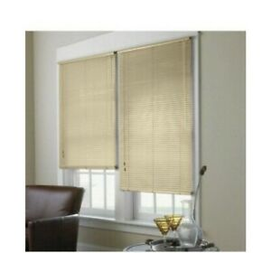 Spectra Black Mini Blinds High Gloss Ebay