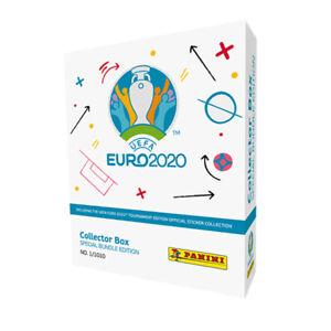 Panini Collector Box weiß - Special Bundle Edition UEFA EURO 2020™