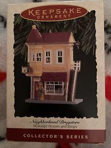 Hallmark Christmas Ornament Neighborhood Drugstore