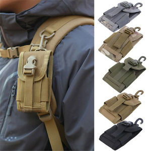 Tactical-Outdoor-Army-Mobile-Mobile-Phone-Pouch-Belt-Look-Bag-Hook-Case-Cover