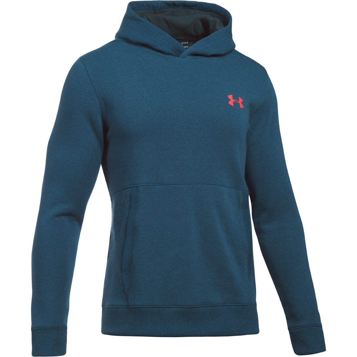 Under Armour Threadborne Fitted Fleece Hoodie Sweatshirt Pullover 1306551-918