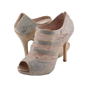 d1ddb3a5bd90 Women s Shoes Blossom Yael 53 Embellished Platform Ankle Booties ...