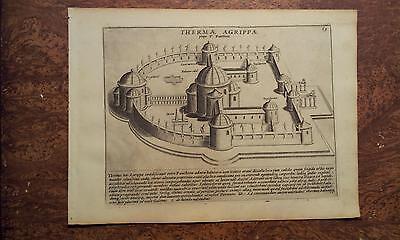 Lauro 1637: Thermae Agrippae, Terme di Agrippa Roma