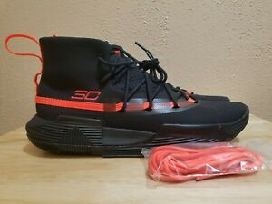 buy popular 9482a 14d14 Details about UA Under Armour Stephen Curry SC 3Zero II 2 Basketball Shoes  Size 10 3020613-002