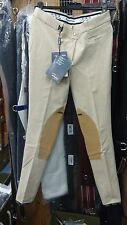 Pantaloni Equitazione Equiline mod Iside  col. Cappuccino tg 46