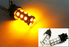 2x Amber 18 SMD LED 3157 3156 Front Turn Signal Light for Ford High Power Bulb