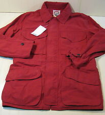 NWT Vintage Banana Republic Travel Safari Jacket Coat Rusty Red Men Medium Large