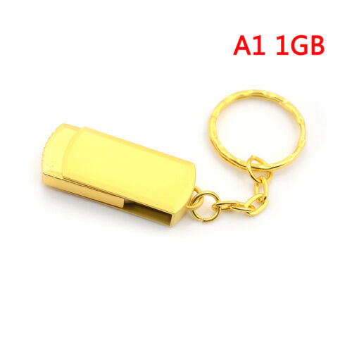 Gold metal key chain usb 3.0pen drive usb flash drive memory stick 4//8//16//32GBca