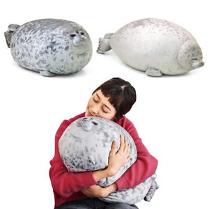 New-Stuffed-Seal-Plush-Pillow-30cm-Giant-Big-Doll-Toy-Kid-Chair-Chest-Pets-Gifts
