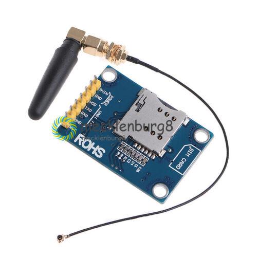 1Stks SIM800L GPRS GSM Module SIM Board Quadband L shape Antenna For MCU Arduino