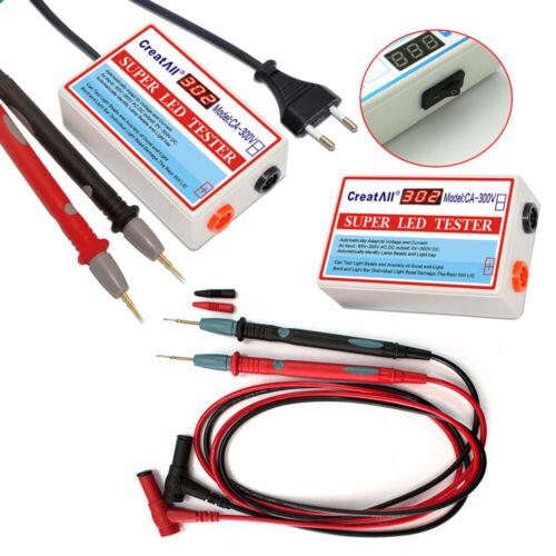 18W LED TV Back Light Reparatur Backlight Tester Voltage Current Test 0-300V DHL