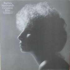 """Vinyle 33T Barbra Streisand  """"Greatest hits - volume 2"""""""