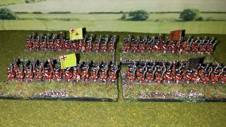 6mm Seven Years War British Army
