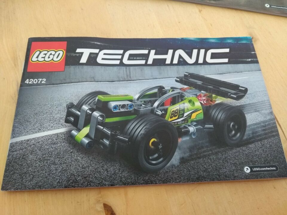 Lego Technic, 42072 og 42073