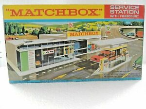 MATCHBOX-LESNEY-SUPERFAST-G-1-SERVICE-STATION-SET-REPRO-EMPTY-BOX
