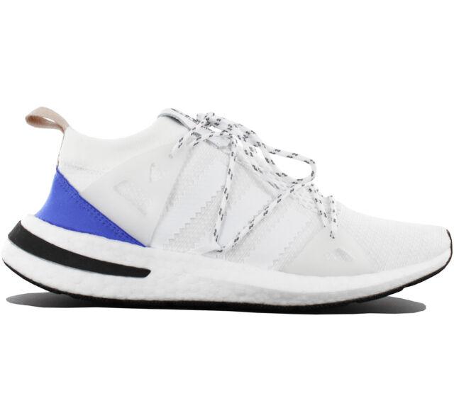 buy popular 4b928 73021 adidas Originals Arkyn W White Blue Ash Pearl Women Running Shoes Sneaker  CQ2748 6 for sale online   eBay