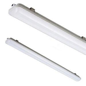 neu led feuchtraum keller lampe garagenbeleuchtung in zwei gr ssen 18w 36w ebay. Black Bedroom Furniture Sets. Home Design Ideas