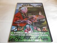 Dvd Autographed By Richard Ho'opii The Timeless Voice & George Kahumoku Jr.