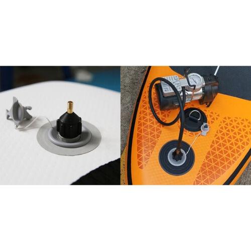 Schlauchbootpumpe Ventiladapter Sup Board Luftkompressor Adapter Kayak Neu