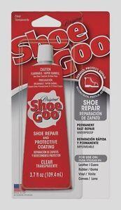 New-SHOE-GOO-Shoe-Skate-Repair-Glue-3-7oz-CLEAR-Adhesive-Protective-Coating-NIP