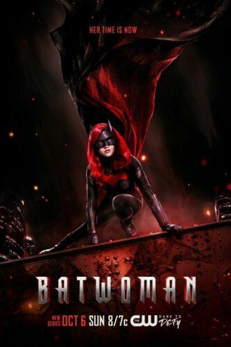 Batwoman Poster 27x40 24x36 CW DC Comics Ruby Rose 2019 TV Series Decor G442