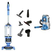Shark Rotator Pro Lift-away Lightweight Upright Vacuum, Blue + Portable Vacuum on Sale