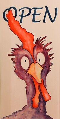 Crazy Chicken Stamp Supermarket