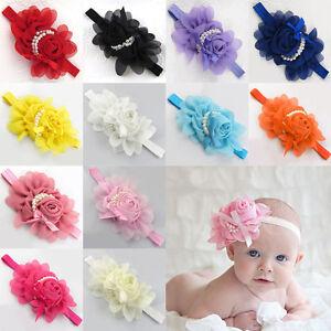 Image is loading Beauty-Colorful-Chiffon-Flower-Headband -Soft-Elastic-Hairband- 9ce2c4ec5ee