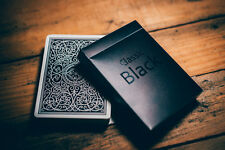 Classic Black Deck Playing Cards Brand New Deck Sealed Limited