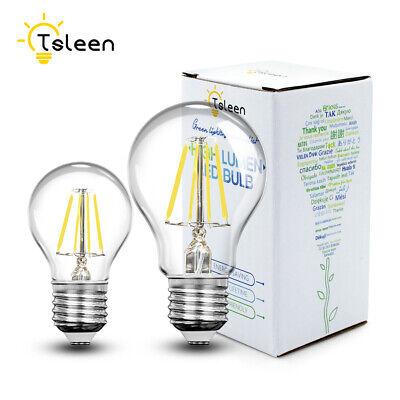 220V Dimmable Filament Cool//WarmLight Ancient Edison LED Bulb E27 Screw Lamp 2F
