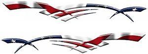 "IRISH FLAG Racing Boat Car Truck Trailer Graphics Decals Stickers Wrap 2-50/"""