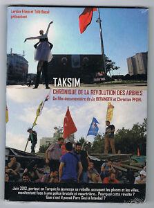 TAKSIM - CHRONIQUE DE LA RÉVOLUTION DES ARBRES - 2014 - DVD NEUF NEW NEU