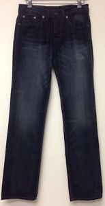 William-Rast-Jake-Straight-With-Fit-Jeans-Size-30-Denim-Biker-Pants