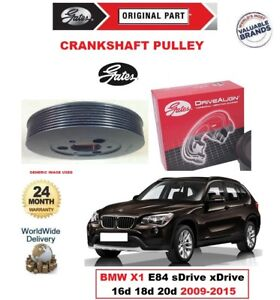 ef8330eeee24 GATES CRANKSHAFT BELT PULLEY for BMW X1 E84 sDrive xDrive 16d 18d ...