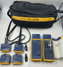 New Listingfluke Networks Omniscanner 2 And Remote Cat5 5e Cat6 Tester With Omnifiber Mm