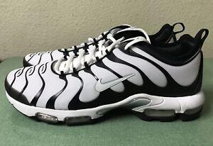 innovative design 580e5 ddafc Details about Nike Air Max Plus TN Ultra White Black Mens Sz 14 Running  Shoes 1 90 95 NEW!!!