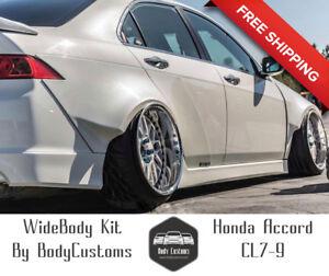Honda Accord CL Euro R Acura TSX Wide Body Kit Fender - Acura tsx body kit