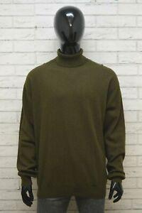 JOOP-Uomo-Taglia-56-Maglione-Dolcevita-Maglia-Pullover-Cardigan-Sweater-Man-Lana